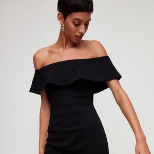 Babaton Ruslan Dress - Black - Aritzia